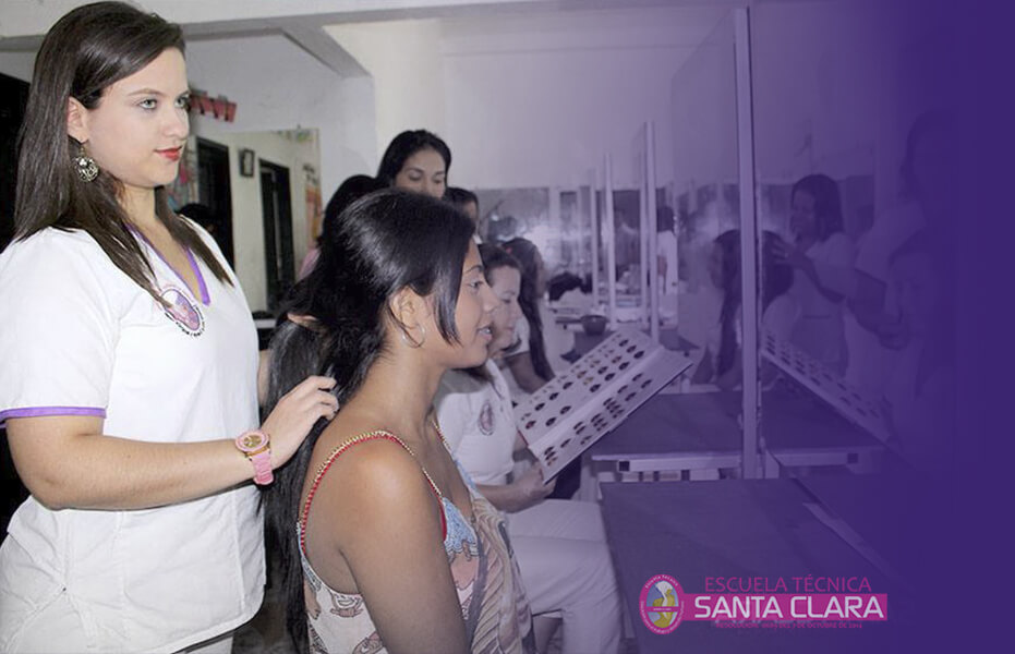 Curso de peluquería Florencia Caqueta 1