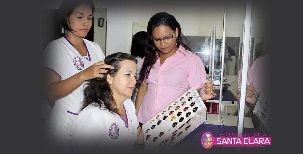 Curso de peluquería Florencia Caqueta 2